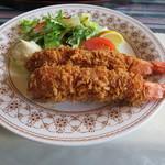 レストラン白鳥 - 海老フライ\1,700