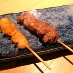 博多焼き ヤマト - ぼんじり、豚カシラ