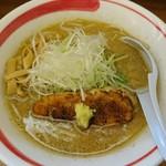 札幌らーめん Tunatori - ニンニク味噌(850円)