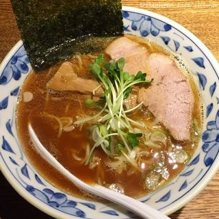 麺部しば盛 - 料理写真:魚燻ラーメン(750円税込)