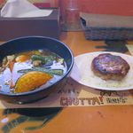 CHUTTA! - ハンバーグカレー(4辛、ライスM、1,100円)