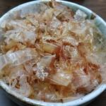 手打ち麺 やす田 - カツオ飯~♪