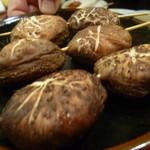 萬太郎 - 椎茸