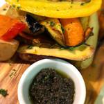 クワトロチンクエ - 季節野菜のロースター焼き