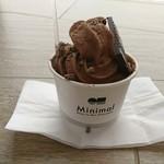 Minimal -Bean to Bar Chocolate- - 写真程盛り付けが美しくないのが残念