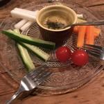 ランバリオン - スティック野菜:バーニャカウダ