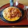 とんかつさくら - 料理写真:とんかつ屋さんだけど鉄板イタスパ(680円)