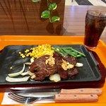 いきなりステーキ - ヒレ×237グラム+インゲン+コーラ