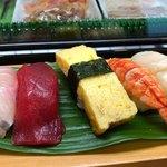 鶴乃寿し - 料理写真:にぎり上 1800円。