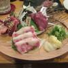 馬肉と九州料理 長浜ホースマン - 料理写真:馬刺し盛り