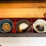 天ぷら やじま。 - 先付