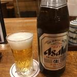 山本屋本店 - 瓶ビール650円税別