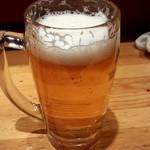 のらくら - 生ビール 350円