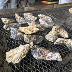 魚稚 - 牡蠣を焼きましょう♪