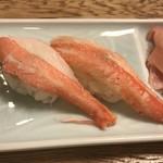 磯平 - カニづくしコース   かに寿司