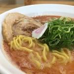 麺屋 じすり - 海老そば しお  平打ち麺
