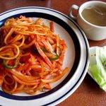 ニューライフ千城 - 料理写真:ナポリタンセット!