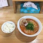 麺屋 じすり - 海老そばしお 小ごはん  ¥750+¥100