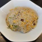 博多とんこつ かたぶつ - セットの炒飯