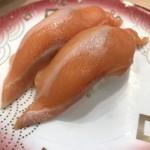 回転寿し まつりや - 料理写真:オーロラサーモン