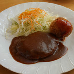 スプーンベル - 料理写真:ランチハンバーグ