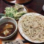 三丁目の手打うどん - 肉つけ麺&天ぷら