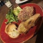 栄 馬肉酒場 馬喰ろう - 元祖馬肉料理タルタルステーキ 680円