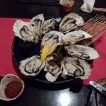あじ蔵 カロカロ - 蒸牡蠣