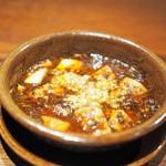 にしぶち飯店 - 麻婆豆腐(ご飯も付いてきます)