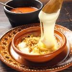 Mexicokitchen×Bar mu - とろとろチーズの手巻きタコス。ケソフンディード
