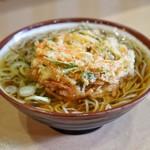 そばの神田 東一屋 - 料理写真:■野菜かき揚げ蕎麦 370円
