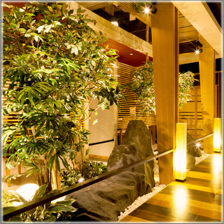 ◆和モダンな個室空間は、貸切宴会もOK!◆