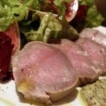 ぶーみんVinum - 豚タンスモークのサラダ仕立て