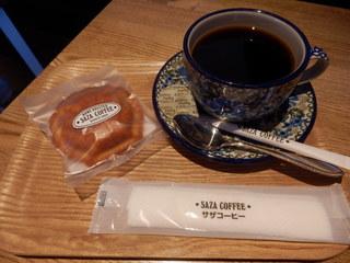 サザコーヒー つくば駅前店 - 深煎りコーヒー&マドレーヌ