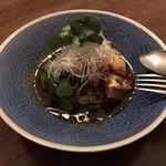 大傳梅梅 - 蒸し鶏(辛味だれ)1200円