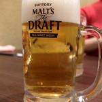 東北人家 - ビール