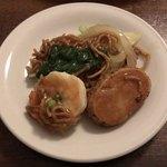 大傳月軒 - 海鮮焼きそば(揚げ麺)