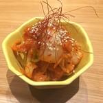 もつ唐と水炊きもつ鍋 由乃 - キムチ