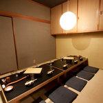木村屋本店 - 完全個室。個人的に一番好きです。