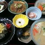 ひめ路 - 高菜めし定食1,280円