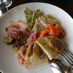 オステリアチエロアルト - 料理写真:前菜盛り合わせ