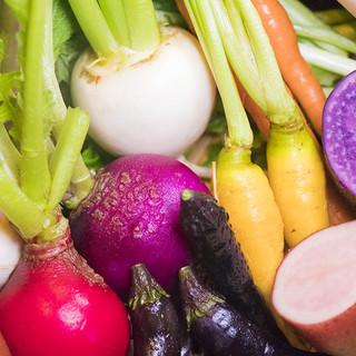 顔の見える農家さまより届く新鮮食材!
