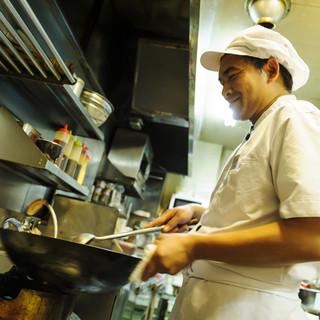 スコンターの料理人は全員タイ人