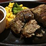 るーぱん - ハンバーグステーキ