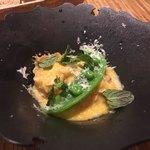 ペペロッソ - トリッパのレモン風味卵とじ