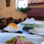 カフェレストラン コルマール - ランチのサラダ