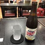 空港食堂 - 2018年01月31日  オリオン瓶ビール 490円