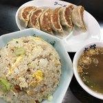 ラーメン大将 - サービスセット 2番、チャーハンと餃子(スープ付)
