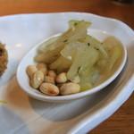 ふくろう - カブ漬けと大豆