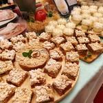 万平ホテル - アトリエ・ド・フロマージュ@紅玉りんごと軽井沢チーズの焼きチーズケーキ(ベイクドチーズケーキ)